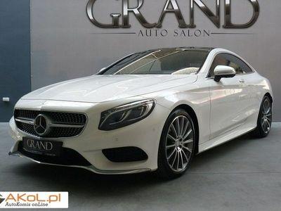 używany Mercedes S500 4.7dm3 455KM 2014r. 25 000km Coupe 4 Matic AMG Exclusive Designo FV23