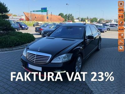 używany Mercedes S350 F-ra VAT 23%,xenon,skóry,navi,kam.cofan,el.podgrz.fotele,bluetooth,4X4 W221 (2005-2013)