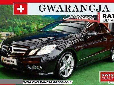 używany Mercedes E220 2.2dm 170KM 2011r. 93 000km