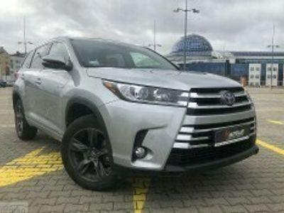 używany Toyota Highlander 3.5dm 270KM 2017r. 22 600km