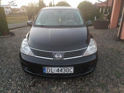 używany Nissan Tiida 1.6dm3 115KM 2007r. 202 500km 16V ABS automatyczna klima.