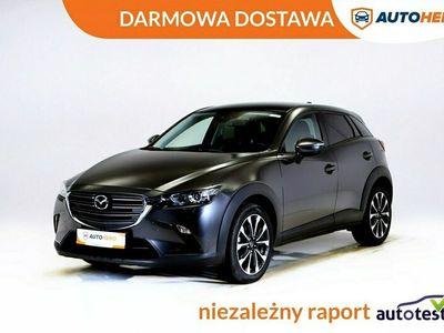 używany Mazda CX-3 DARMOWA DOSTAWA, Navi, PDC, Grzane fotele, Serwis ASO, I właściciel