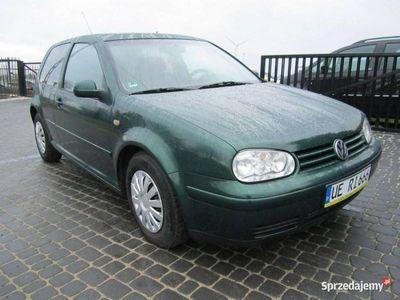 używany VW Golf 1,6 b SR klima stan b.dobry przygotowany do rej. koszt rej tylko 245zł IV (1997-2003)