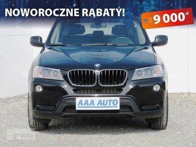 używany BMW X3 II (F25) Salon Polska, 1. Właściciel, Serwis ASO, 181 KM, 4X4,