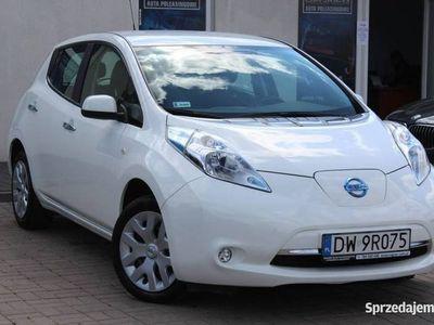 używany Nissan Leaf 30Khw Visia 109KM SalonPL ASO FV23% 1WŁ Gwarancja Fabryczna