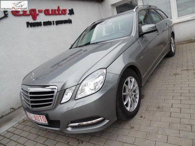 brugt Mercedes 220 klasa E 2.1dm3 170KM 2011r.000km AVANTGARDE serwis ASO bogate wyposażenie Gwarancja