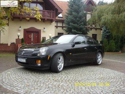 używany Cadillac CTS 3.6 V6 2005r. automatyczna klima.