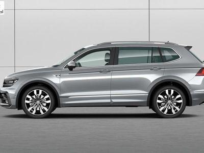 used VW Tiguan Allspace 2dm3 190KM 2019r. 10km 2.0 TSI 190KM 4MOTION DSG Highline R-Line 7 os Premium - Polski Dealer