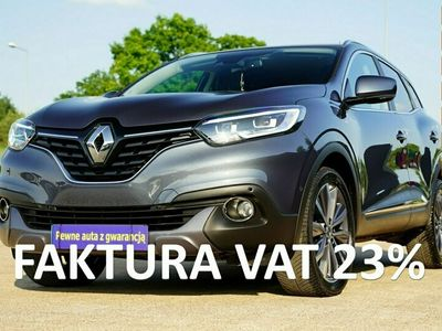używany Renault Kadjar ACC nawi FULL LED skóra SAM PARKUJE kamera ALUSY 19 line assist FUL OP I (2015-)