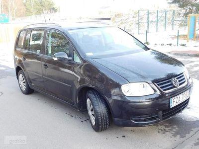 używany VW Touran I Zarejestrowany - automat - 1,9 - 105 KM