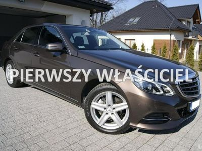 używany Mercedes E220 2.2 CDI 170 KM Automat Salon PL Navi Stan Salonowy I Właściciel
