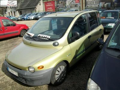 używany Fiat Multipla Multipla 1.9dm3 1999r. 282 000km