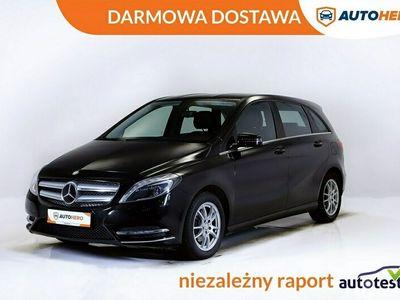 używany Mercedes B200 DARMOWA DOSTAWA, Xenon, LED, Navi, Półskóra, Grzane fotele, PDC W246 (2011-)