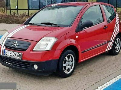 używany Citroën C2 1.1dm 60KM 2004r. 202 000km