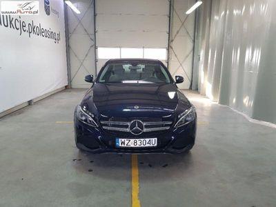 used Mercedes C180 klasa C 1.6dm3 156KM 2017r. 23 161km9G-Tronic