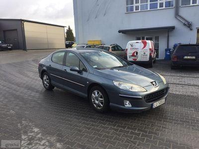 używany Peugeot 407 2006r 1,6 HDI SR 110KM, Lublin