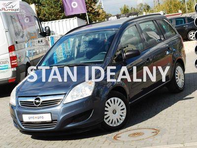 used Opel Zafira 1.9dm 120KM 2009r. 130 000km