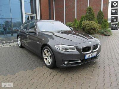 gebraucht BMW 520 seria 5 2dm3 190KM 2015r. 86 812km DW401YA # xDrive # Automat # d # Navi # Doposażony #