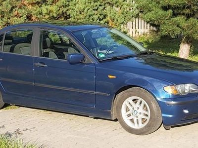 używany BMW 318 3 sedan i 143KM 2004r 233700km opłacony