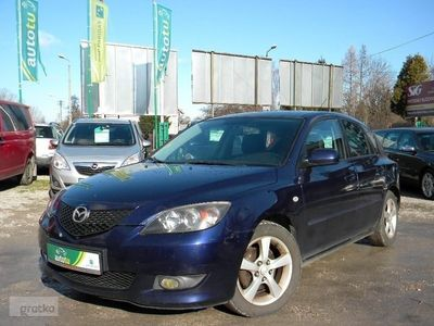 używany Mazda 3 I 1.6 benz, Klima, Skóra, Zarejestrowany !!!, Bielsko-Biała