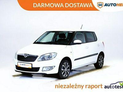 używany Skoda Fabia DARMOWA DOSTAWA, Klima auto, Grzane fotele, PDC, 85KM II (2007-2014)