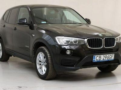 używany BMW X3 2dm3 190KM 2016r. 53 567km CB296GF # Linia Advantage # Automat # xDrive # Potwierdzony przebieg #