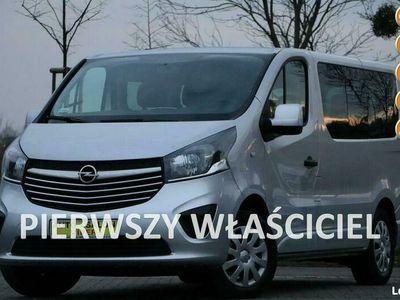 używany Opel Vivaro 1-właścicel, krajowy, zarejestrowany, Fa VAT, serwisowany