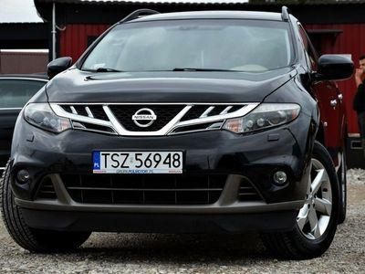 używany Nissan Murano Czarny Salon PL 2.5DCi 190KM 4x4 150tys.km Kamera Navi Xenon
