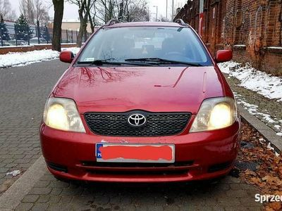 używany Toyota Corolla E12 kombi 2004r 2,0 diesel 90km D4D