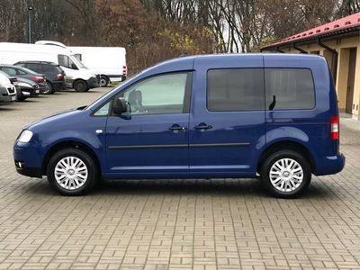 używany VW Caddy III LIFE 1,6 MPI BENZYNA +LPG BRC gaz/ 102 KM/grudz