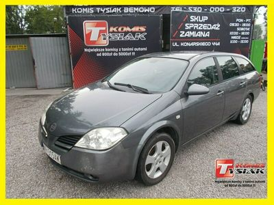 używany Nissan Primera !!! Bemowo !!! 1.8 benzyna+LPG, 2002 rok !!! KOMIS TYSIAK !!! P12 (2001-2007)