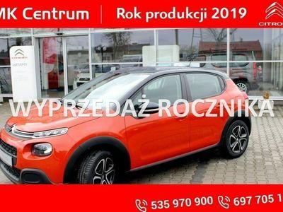 """używany Citroën C3 1.2dm3 82KM 2018r. 5km 82KM Feel czarny dach, 16""""koła - rabat 5000 !"""