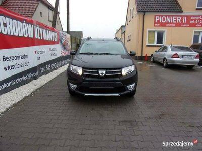 używany Dacia Sandero Stepway 2013 czarny 90KM