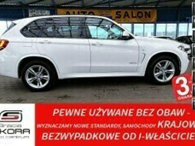 używany BMW X5 F15 3 Lata GWARANCJA I-wł Kraj Bezwypadkowy MSport xDrive25d 231KM FV23%