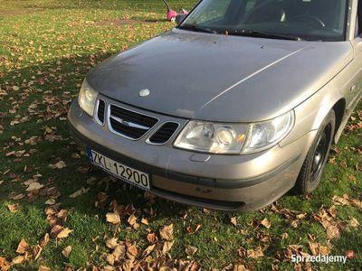 używany Saab 9-5 2.3t manual po remoncie silnika, idealny dawca