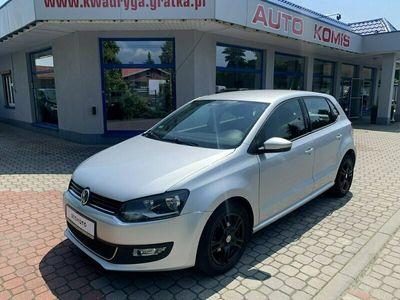 używany VW Polo V V Black Niski przebieg, Alumy, Gwarancja !