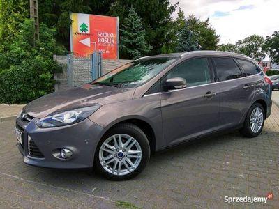 używany Ford Focus 1.0 125Km Titanium Klimatronik APA Grz.Fotele Chromy Alu Niemcy Mk3 (2010-)