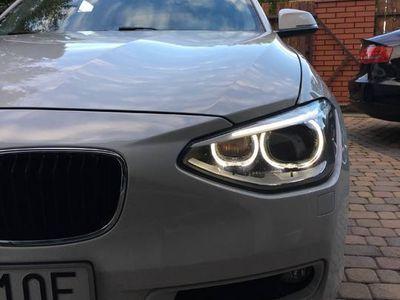 używany BMW 118 d serwis led, biksenon, automat, 2kpl opon,pryw