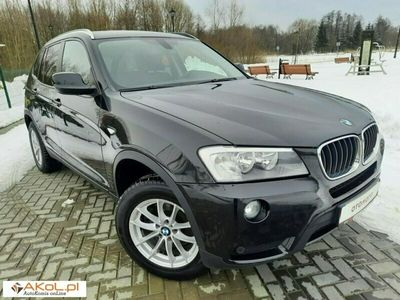używany BMW X3 2dm 184KM 2013r. 148 322km