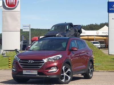 brugt Hyundai Tucson 2dm 185KM 2016r. 63 500km
