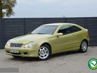 używany Mercedes C220 Coupe **143 KM **Org.Przebieg / Zadbany