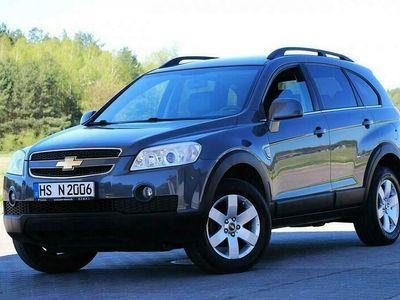używany Chevrolet Captiva 7osobowy 150KM Pół Skóry Klimatronik tempomat Pdc Niemcy I (2006-2011)