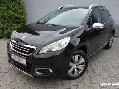 używany Peugeot 2008 1,6D Półskóra Klimatronik Panorama Ledy Alu VIP Gwarancja