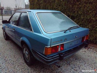 używany Ford Escort mk3 Ghia Coupe zadbany sprawny zamiana