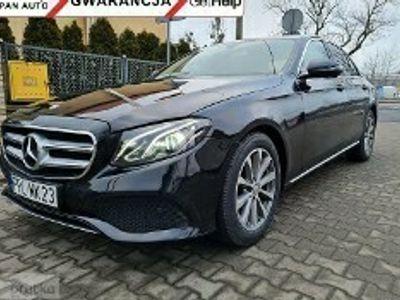 używany Mercedes 220 Klasa E W213CDI 194 KM Salon POlska Nawigacja Kamera