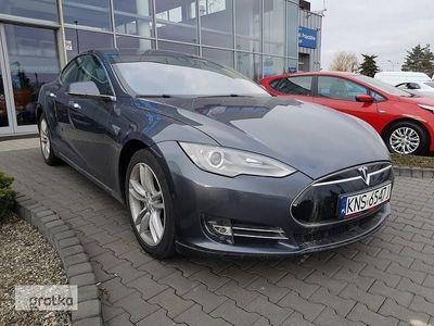 używany Tesla Model S S85 ELEKTRYCZNY Full LED NAVI Skóra 386KM ! Wersja Europejska !