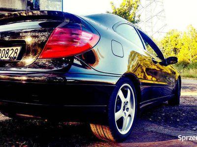 używany Mercedes C200 Kompressor w203, 2001r. sportcoupe LPG do 2027