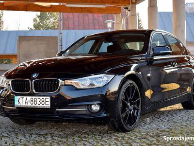 używany BMW 320 F30 LCI d SPORT LINE 97000km 16r Bezwypadkowy FullLED