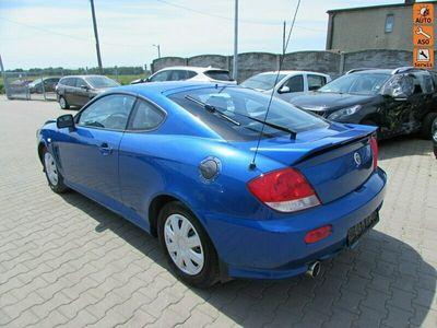 używany Hyundai Coupé 2dm 143KM 2006r. 125 000km