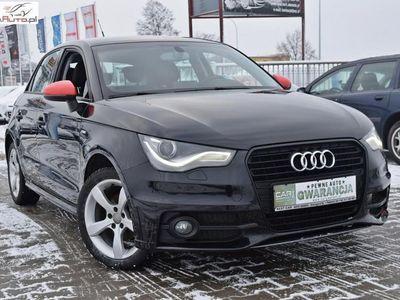 używany Audi A1 1.2dm3 86KM 2014r. 147 000km Gwarancja Techniczna, 1,2 Benzyna - 86 KM, Szwajcaria, Ledy, Alu Felgi